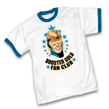 "DC Comics x Graphitti Designs Booster Gold T-Shirts - ""Booster Gold Fan Club"" T-Shirt"
