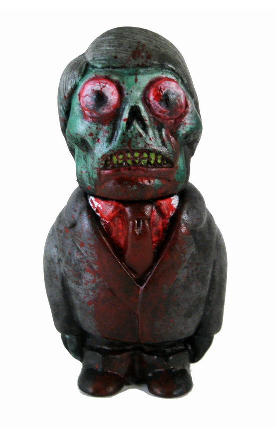 Zombie Edition Formaldehyde Face Resin Figure By Motorbot