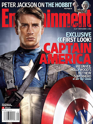 Captain America: The First Avenger First Look - Chris Evans as Captain America High Resolution Photo