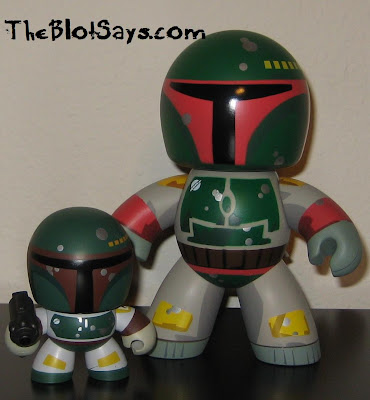 Boba Fett Mini Mighty Mugg and Boba Fett Mighty Mugg