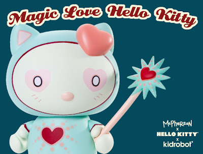 Kidrobot x Sanrio Magic Love Hello Kitty Vinyl Figure by Tara McPherson