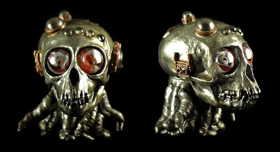 Plaseebo x DeadBear Studios Steam Punk Edition Skulloctopus