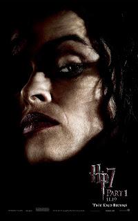 Harry Potter and the Deathly Hallows Part 1 Portrait Movie Poster Set - Helena Bonham Carter as Bellatrix Lestrange