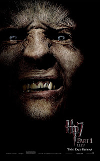Harry Potter and the Deathly Hallows Part 1 Portrait Movie Poster Set - Dave Legeno as Fenrir Greyback