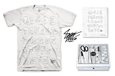 LTD Tee - The Alphabet T-Shirt &amp; Art Print Box Set by Sweet Uno