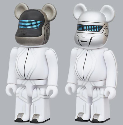 Be@rbrick Series 21 by Medicom - TRON: Legacy Daft Punk 100% Be@rbricks
