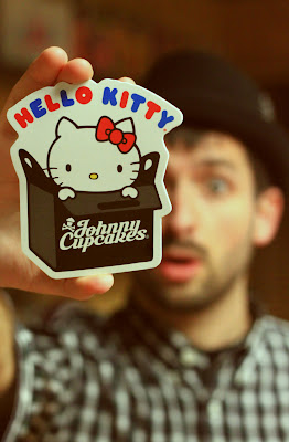 The Johnny Cupcakes x Hello Kitty Collection Sticker