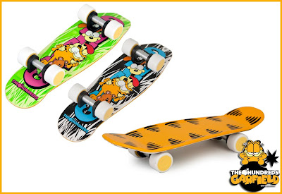 The Hundreds x Garfield Vinyl Figure Skateboard Accessories