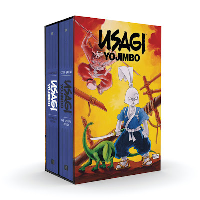 Usagi Yojimbo: The Special Edition Hardcover Two Volume Slipcase Set