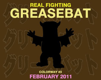Monster Worship - Greasebat Vinyl Figure 3rd Colorway by Jeff Lamm Teaser Image