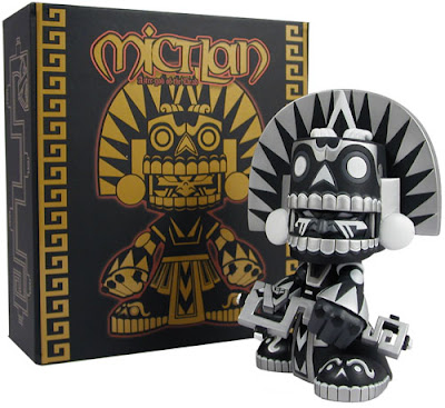 Tomenosuke Exclusive Shadow Mictlan Vinyl Figure by Jesse Hernandez