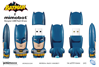 DC Comics x Mimobot Batman Mimobot Designer USB Flash Drive