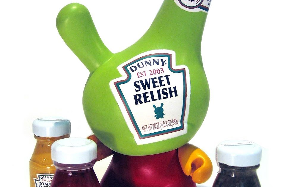The Blot Says The Works Custom 8 Condiment Dunny By