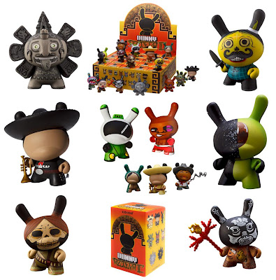 Kidrobot Dunny Azteca Series 2 Various Figures and Packaging