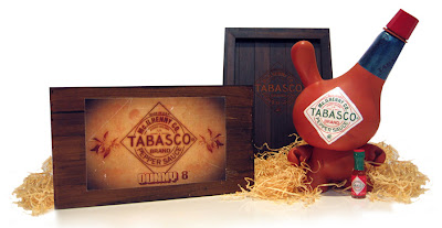 Tabasco Custom 8 Inch Dunny and Packaging by Sket-One