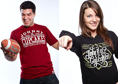 Johnny Cupcakes Valentine's Day 2011 Releases - Delivery Service T-Shirt & Original Recipe Pullover