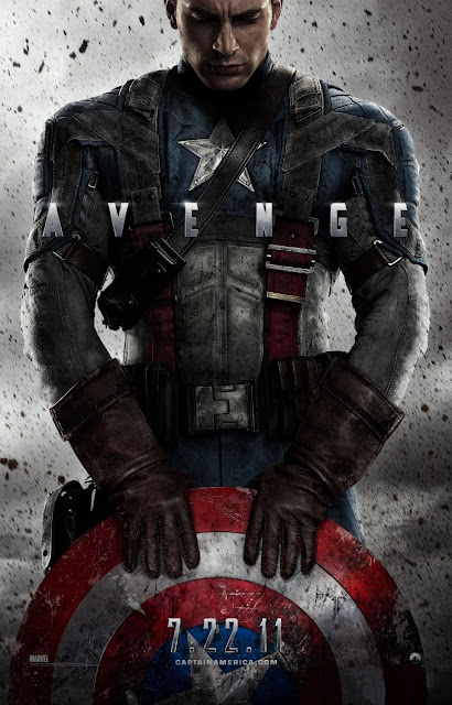Captain America: The First Avenger Teaser One Sheet Movie Poster