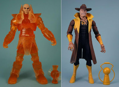 DC Universe Classics Wave 17 Blackest Night Action Figures - Orange Lantern Luthor & Sinestro Corps Scarecrow