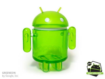 Android Series 02 - Greeneon Vinyl Figure by Google, Inc.
