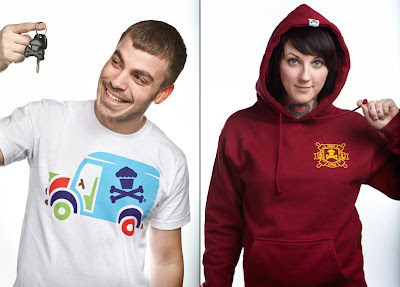 Johnny Cupcakes February 2011 Releases - Super Delivery Truck T-Shirt & Crest Pullover