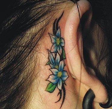 flower tattoo ideas for women