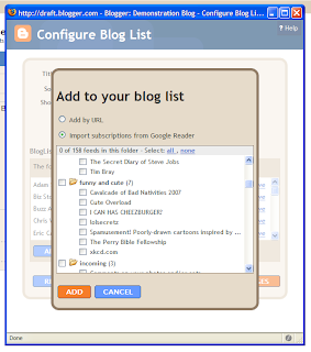 Adding a Blogger Blogroll to your blog Techrena