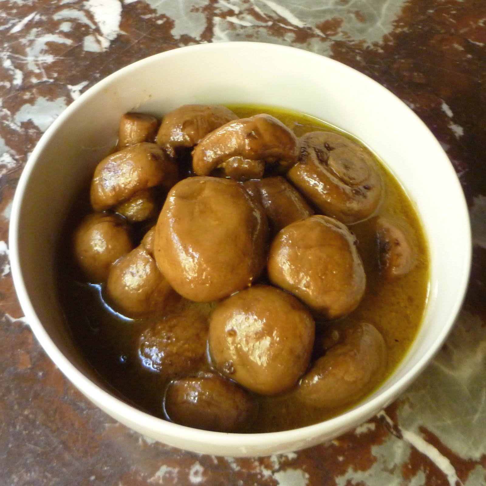How To Make Marinated Mushrooms Recipe — Dishmaps