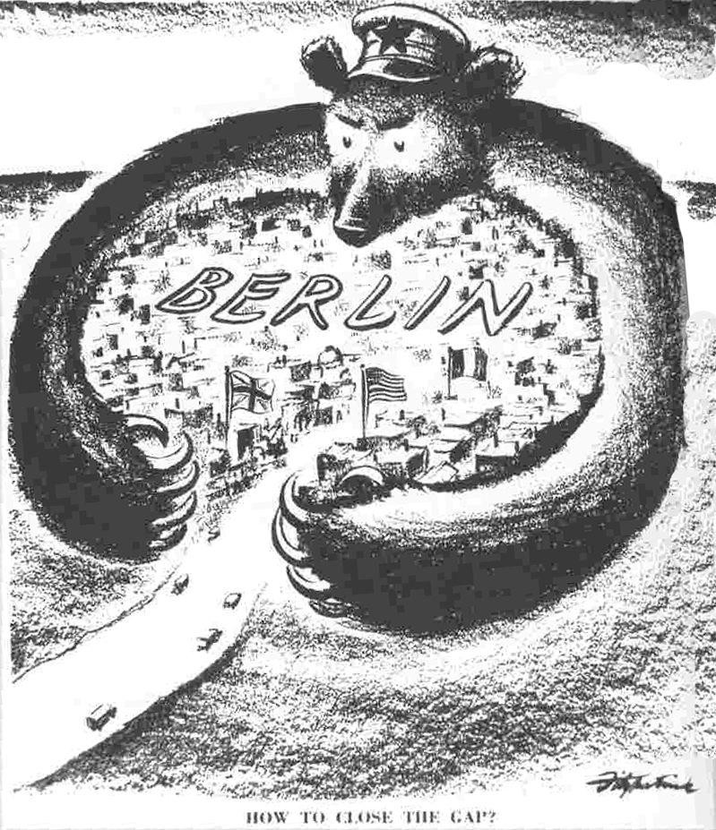 the berlin blockade and airlift The berlin blockade illustrated just how poorly stalin was being  in their  reporting about the effectiveness of the blockade and allied airlift.