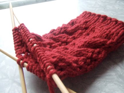 Knitting Stitches For Thick Yarn : BIG THICK KNITTING NEEDLES New Knittng Patterns