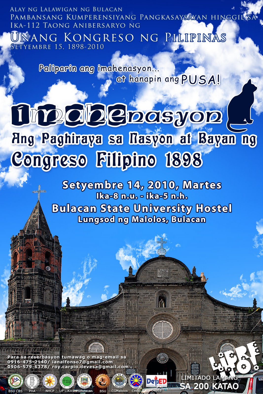 National Conference for the Malolos Congress set on September 14