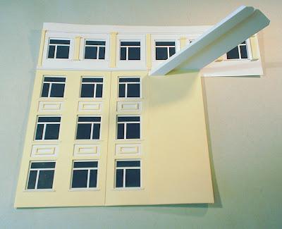 Макет здание из бумаги своими руками