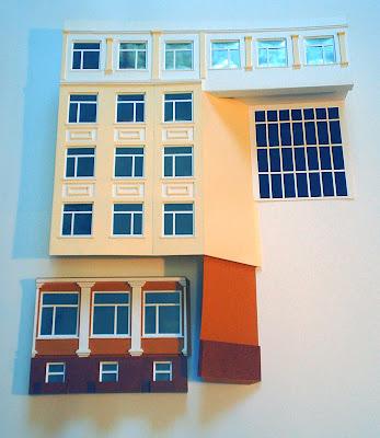 Сделать макет здания своими руками