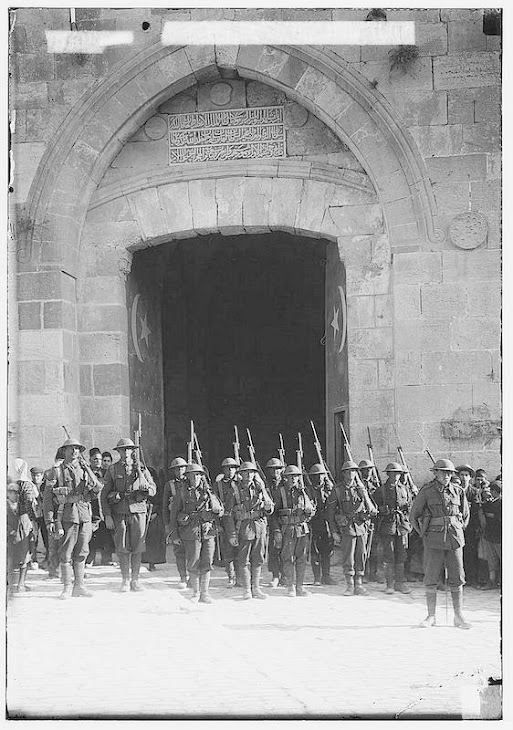 Jaffa Gate 1917 British Army