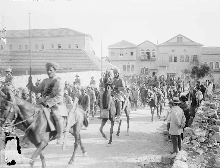 Indian army  in Jerusalem 1914