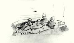 קרב עכו עמדת קשר ומרגמות על גבעת נפוליון