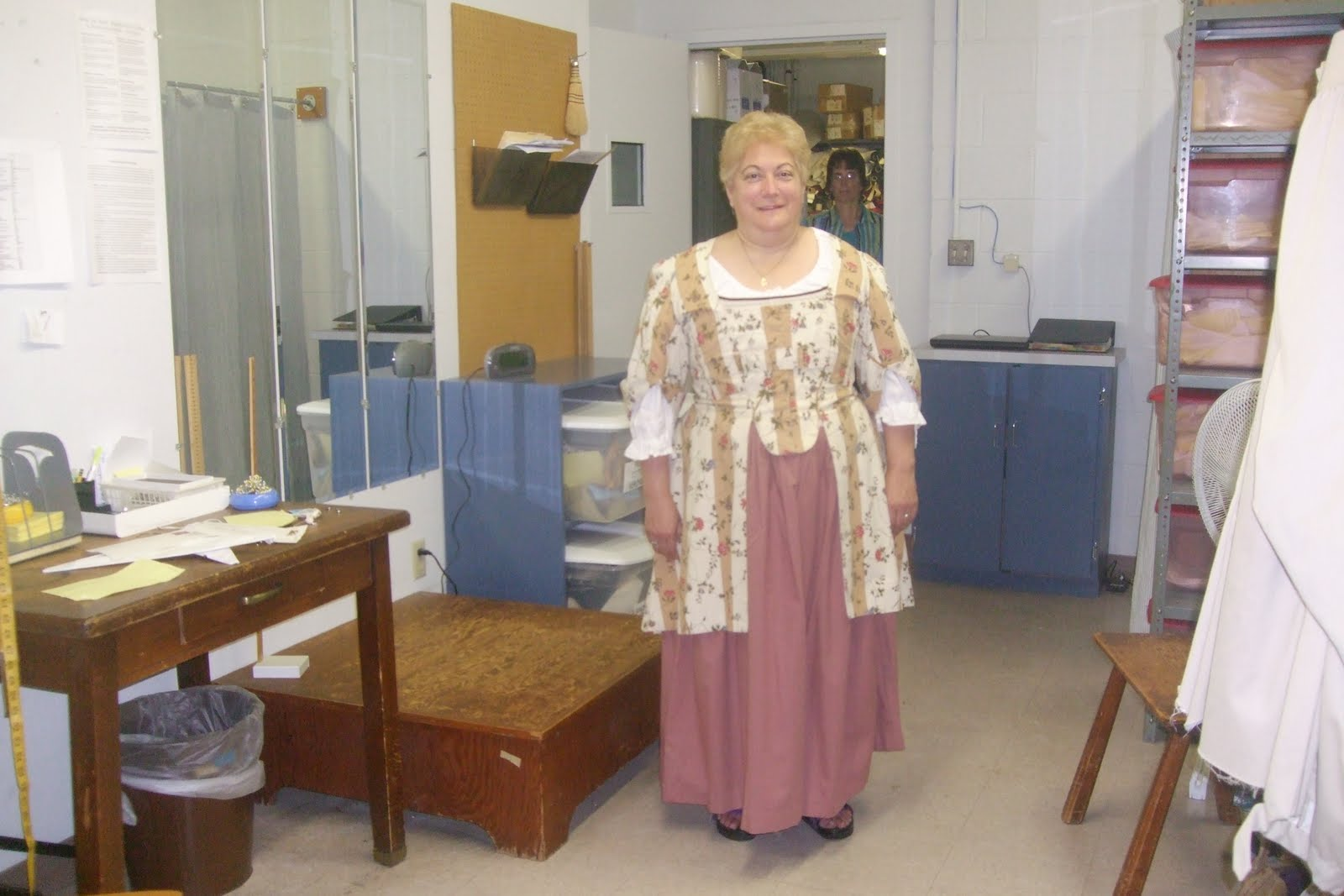Nancy and Barb joined me as I begin my tour of Colonial Williamsburg with the Costume Design Center. I got a full tour of the various character costumes and ...  sc 1 st  Merleu0027s Whirls & Merleu0027s Whirls: COLONIAL WILLIAMSBURG: THE COSTUMES