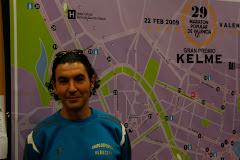 Maratón Valencia (Febrero 2009)