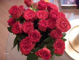Trandafirii primiti de ziua mea de la iubitul meu....