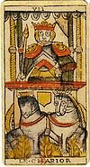 le chariot tarot divinatoire signification interpretation