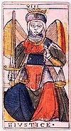 la justice signification tarot arcane majeur interpretation