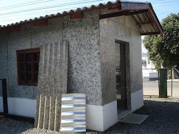 Casas com telhas ecologicas