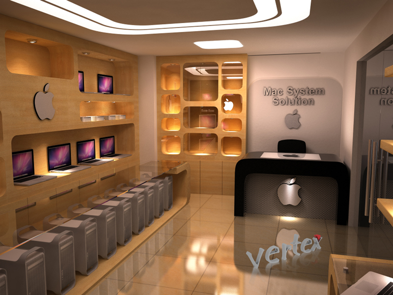 3d Interior And Animation Show Room Design For Mac