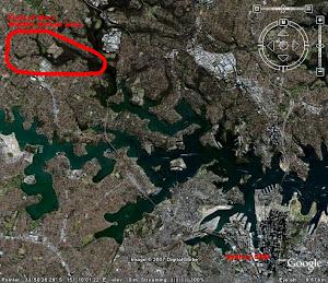 Google Earth Image: 33 48 53.97S 151 07 47.56E
