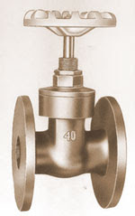 Bronze Gate Valves - Flanged End Valves