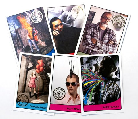 """""""Idle Hands Is The Devils work"""": ART cards @ SDCC!"""