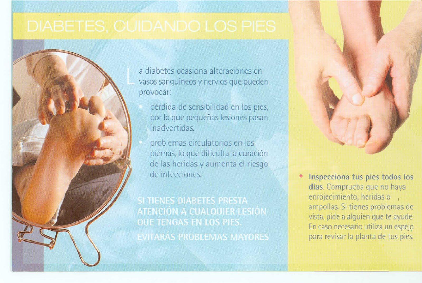 Es de vital importancia un correcto cuidado de los pies en la Diabetes