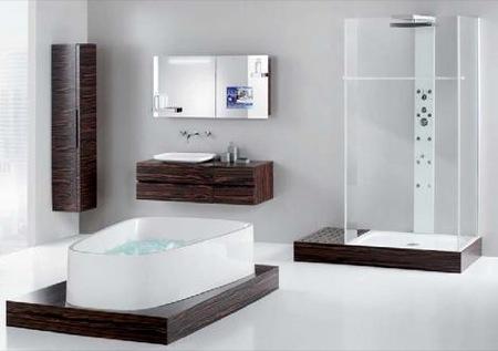 Moderní koupelny inspirace:
