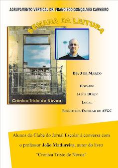 Professor João Madureira na BE/CRE