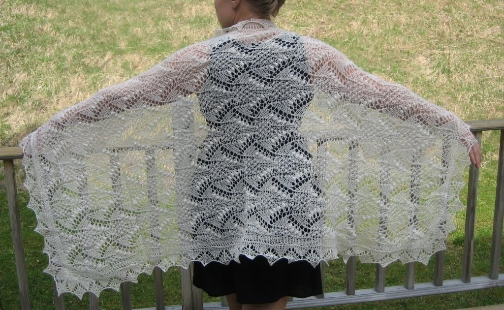 All Knitted Lace: On Nupps and Yarn Color
