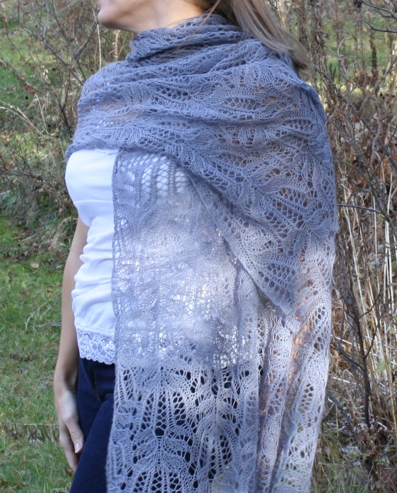 All Knitted Lace Frost Flowers Lace Pattern